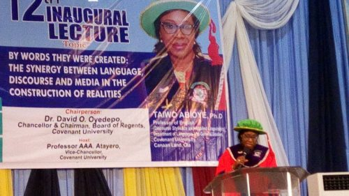 The 12th Inaugural Lecturer