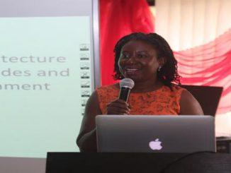 The-Managing-Director-Omar-Gardens-Flora-Company-Limited-Mrs.-Mimi-Ade-Odiachi-speaking-at-Archifuse-2018-programme-organised-by-the-Department-of-Architecture