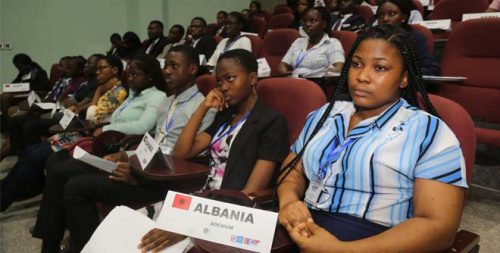 Cross-section of delegates at the conference