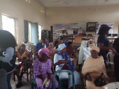 Some of the beneficiaries of the free health services
